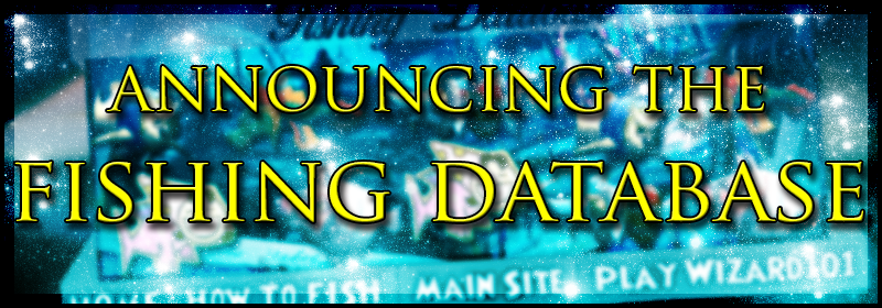 Announcing the Fishing Database!