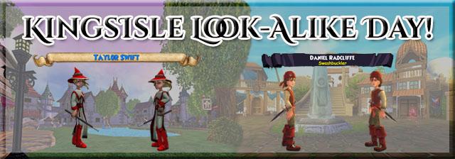 KingsIsle Look-Alike Day!