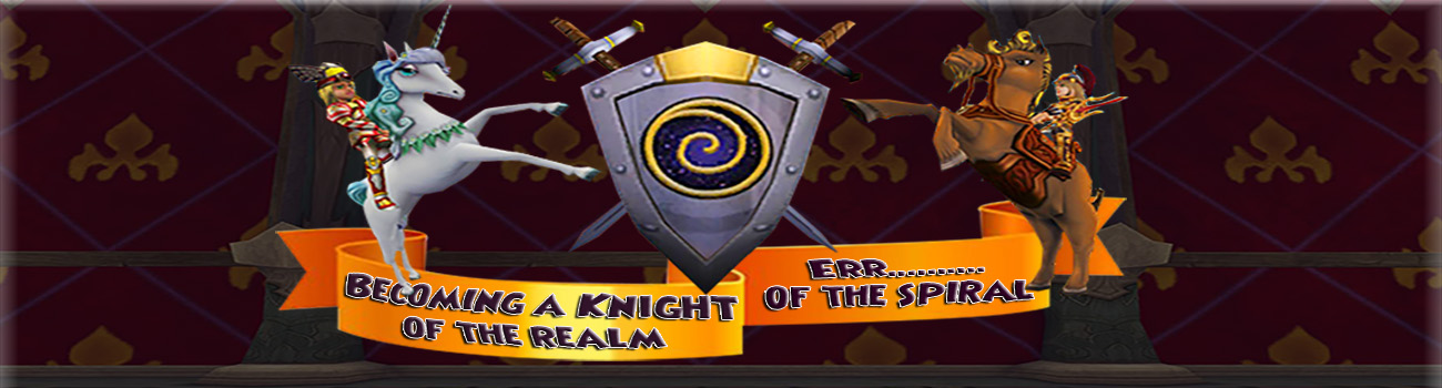 Becoming a Knight of the Spiral