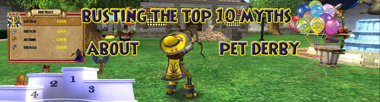 Busting The Top 10 Myths about Pet Derby