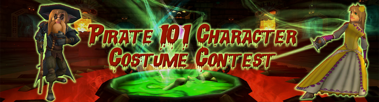 Pirate101 Character Costume Contest!