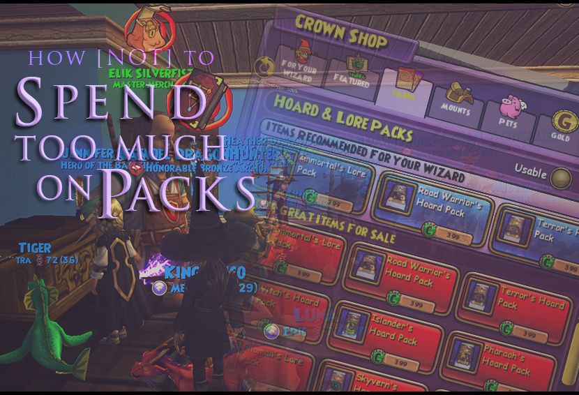 How [Not] to Spend Too Much on Packs!