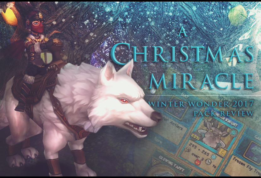 A Christmas Miracle: Winter Wonder 2017 Pack Review