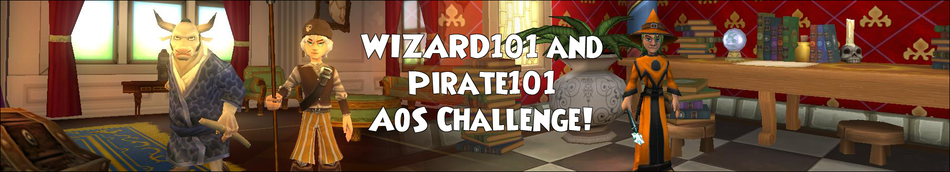 The AoS Challenge for Pirate 101 and Wizard101