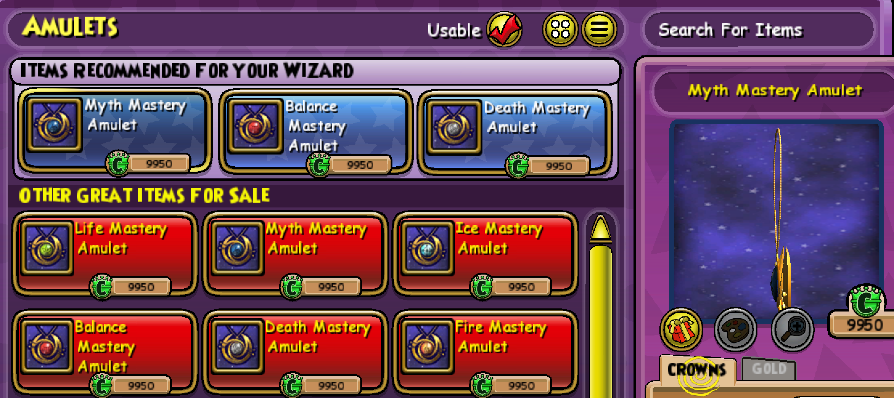 Mastering the Mastery Amulets
