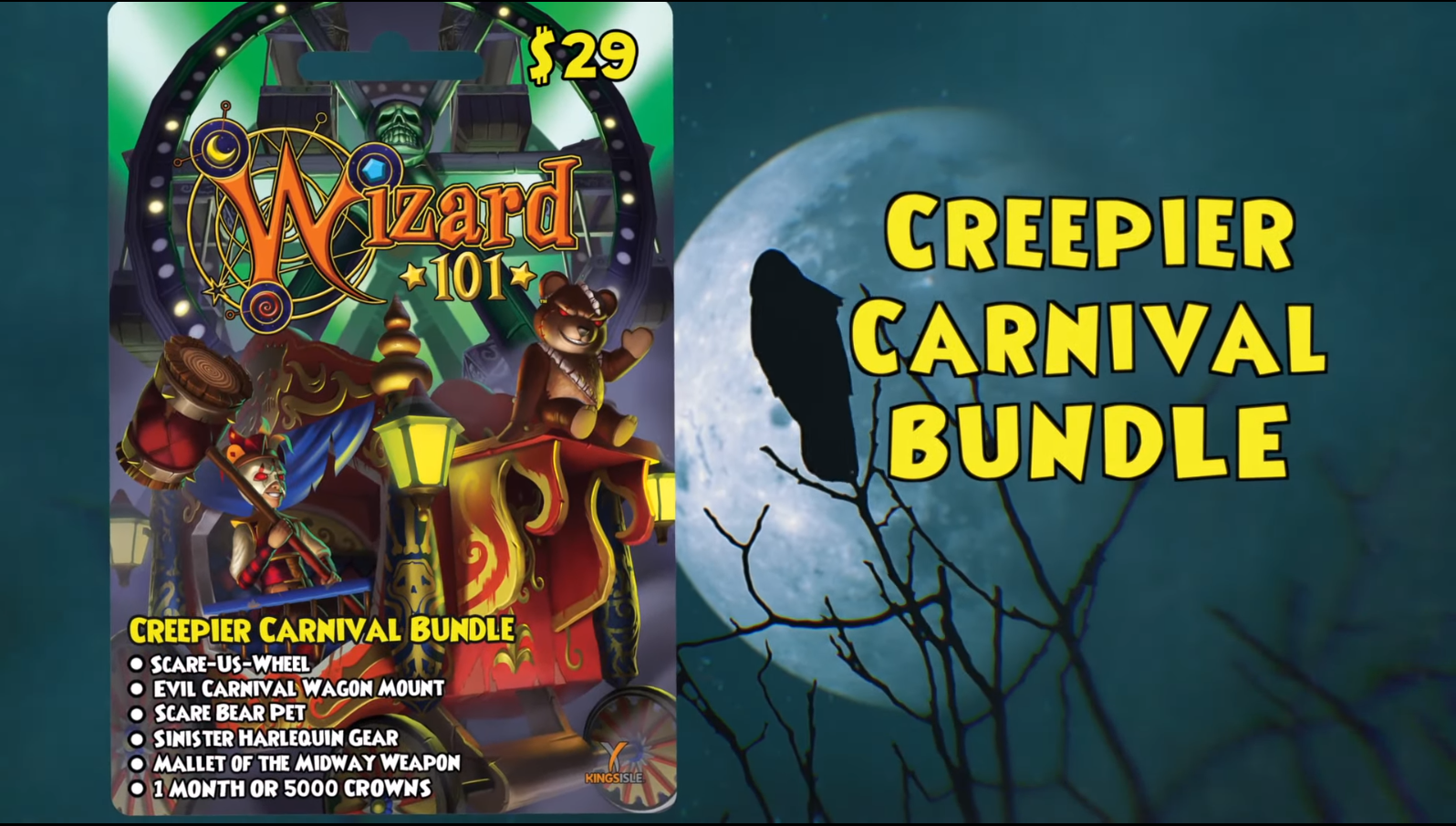 The Creepier Carnival Bundle